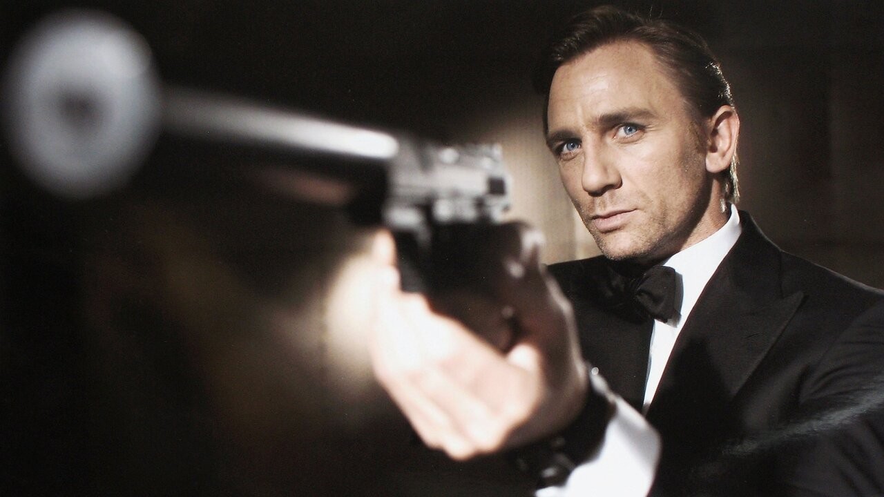 WPTV Daniel Craig as James Bond