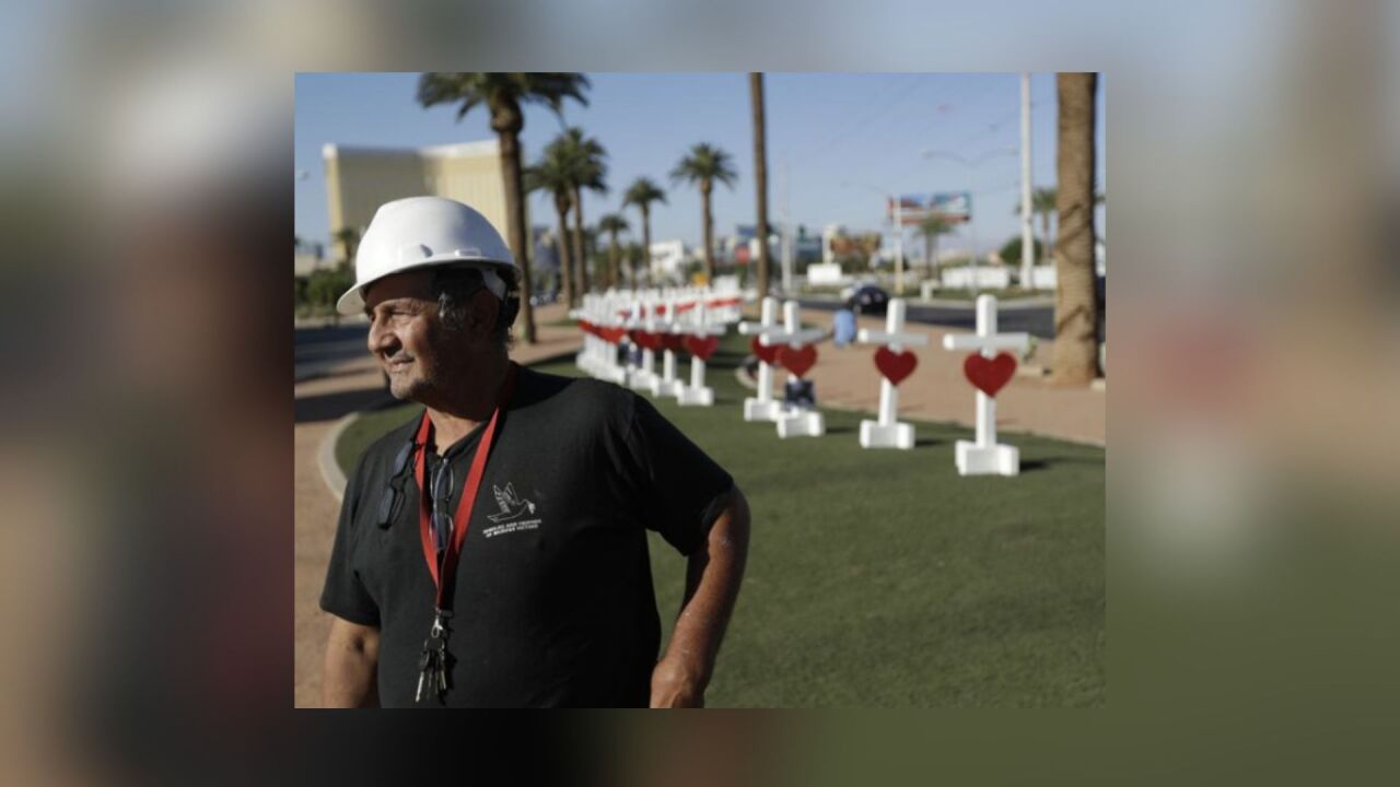 Las Vegas man behind Crosses for Losses has terminal cancer