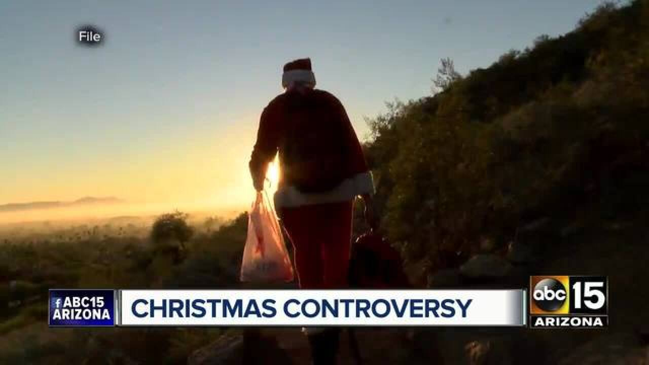 It's official: Camelback Christmas tree is back