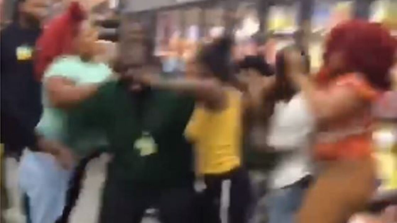 Multi-person brawl breaks out in Norfolk Walmart, fight caught oncamera