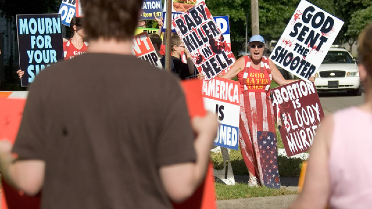 Oak Hills High School closed early as Westboro Baptist Church picketers came to campus
