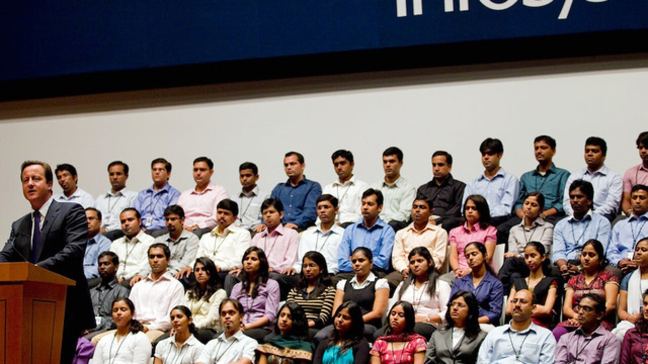 India's Infosys will hire 10,000 American tech workers