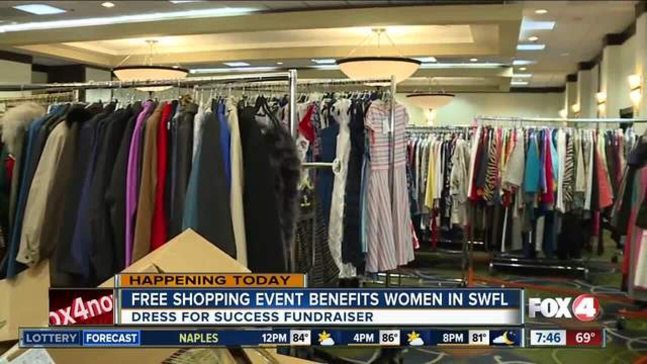 Free shopping event benefits local women