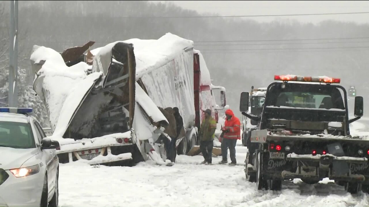 Winter weather did not cause this crash that closed Route 301