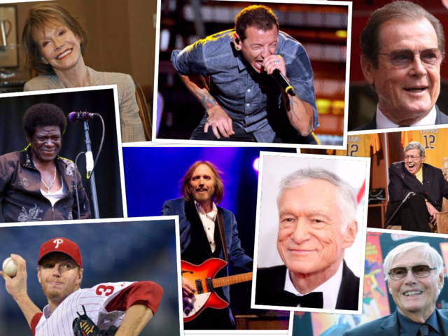 Celebrity deaths of 2017: Look back at those we lost this year