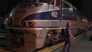 Man lying on track is hit by train