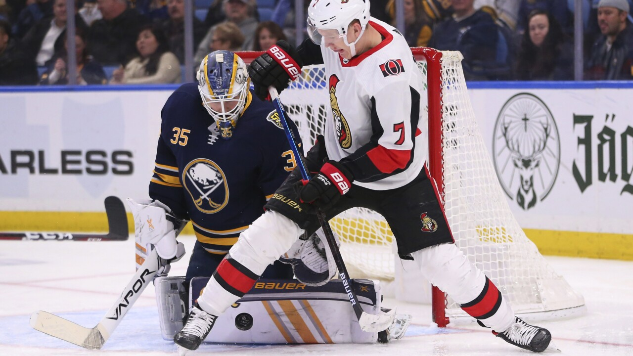 Sabres open 5-game homestand with ugly loss to Senators