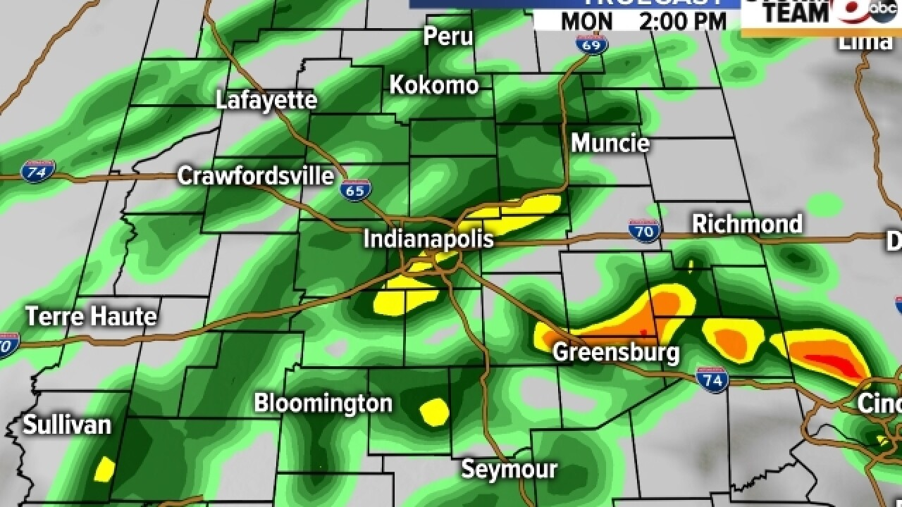 PHOTOS: When will rain hit central Indiana?