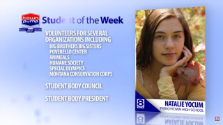 Student of the Week Natalie Yocum