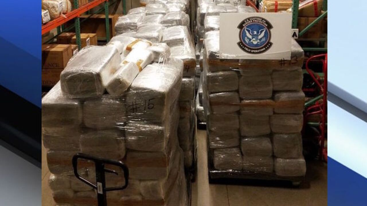 Customs and Border Protection: $6.8 million worth of marijuana seized in Nogales
