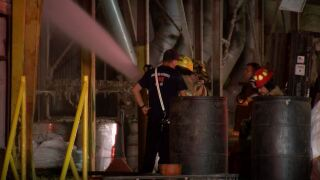 Motor overheats and causes small fire at cotton gin plant