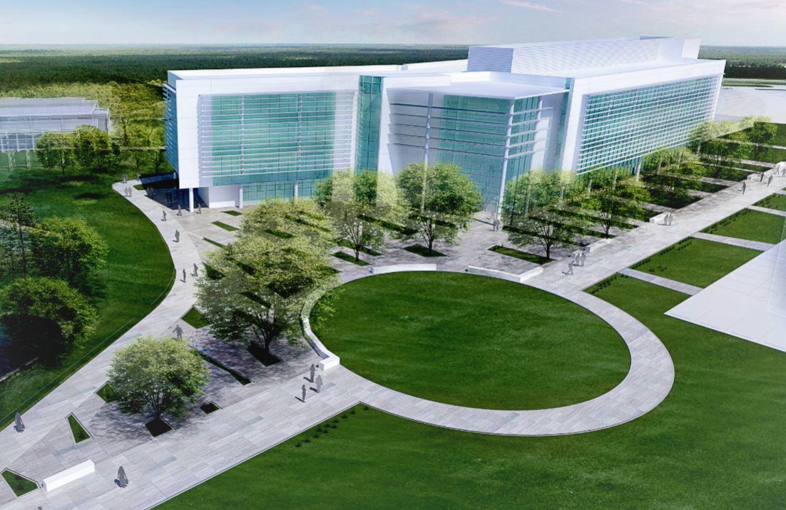 Florida Gulf Coast University rendering of new Water School