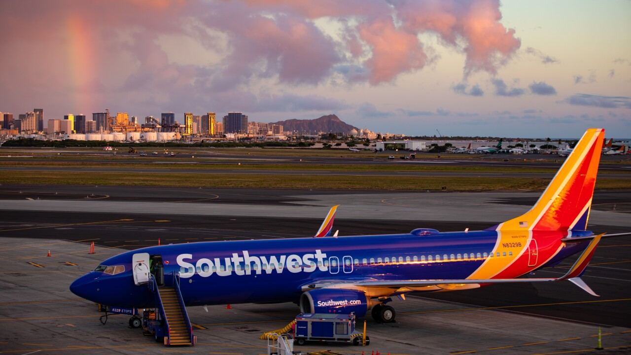 Southwest Airlines Completes First Validation Flight to Hawaii
