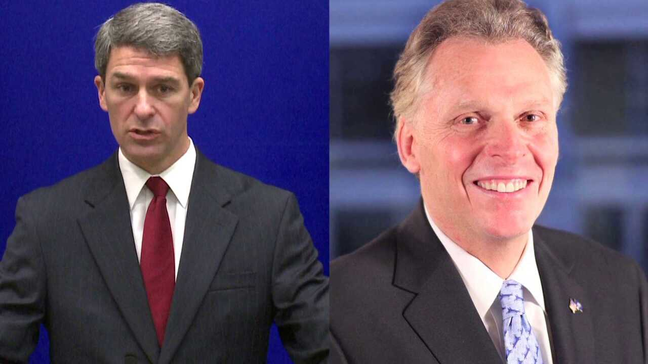 GOLDMAN: Bromance as Gov. McAuliffe needs GOP rival Cuccinelli
