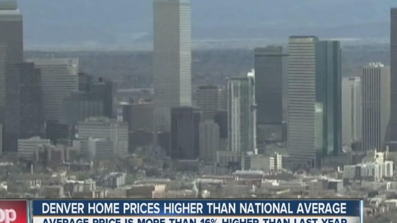 Denver's white hot housing market cools