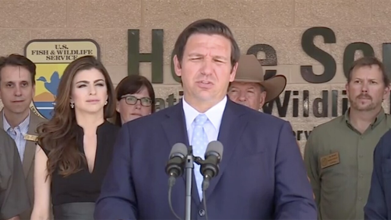Gov. DeSantis to make environmental announcement in Hobe Sound on Monday afternoon