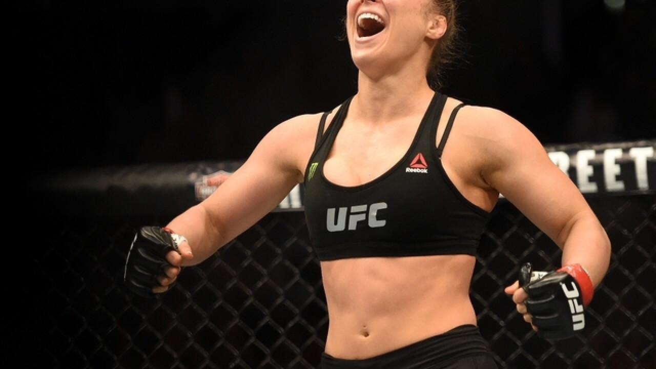 Ronda Rousey sets UFC return date