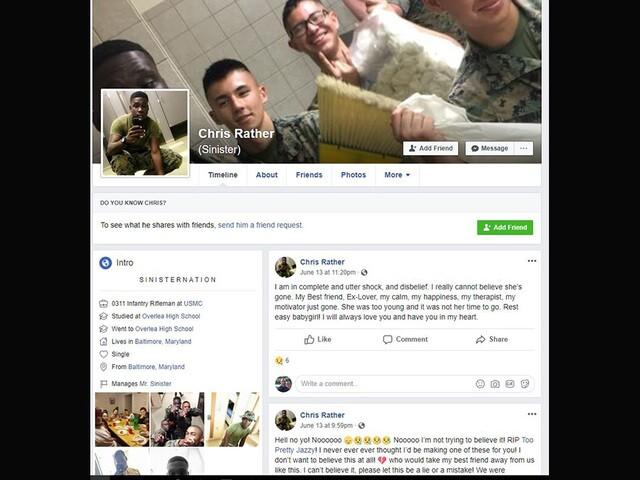 Police: Marine murders ex-girlfriend in bleachers