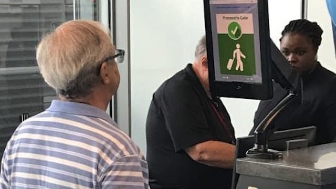 Biometric facial recognition may replace boarding passes