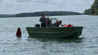 Percy Priest Buoy Replacement