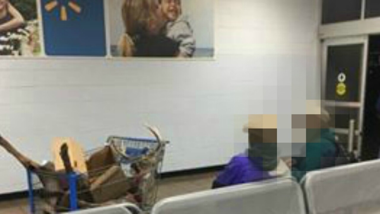 Men roll dead deer into Short PumpWalmart