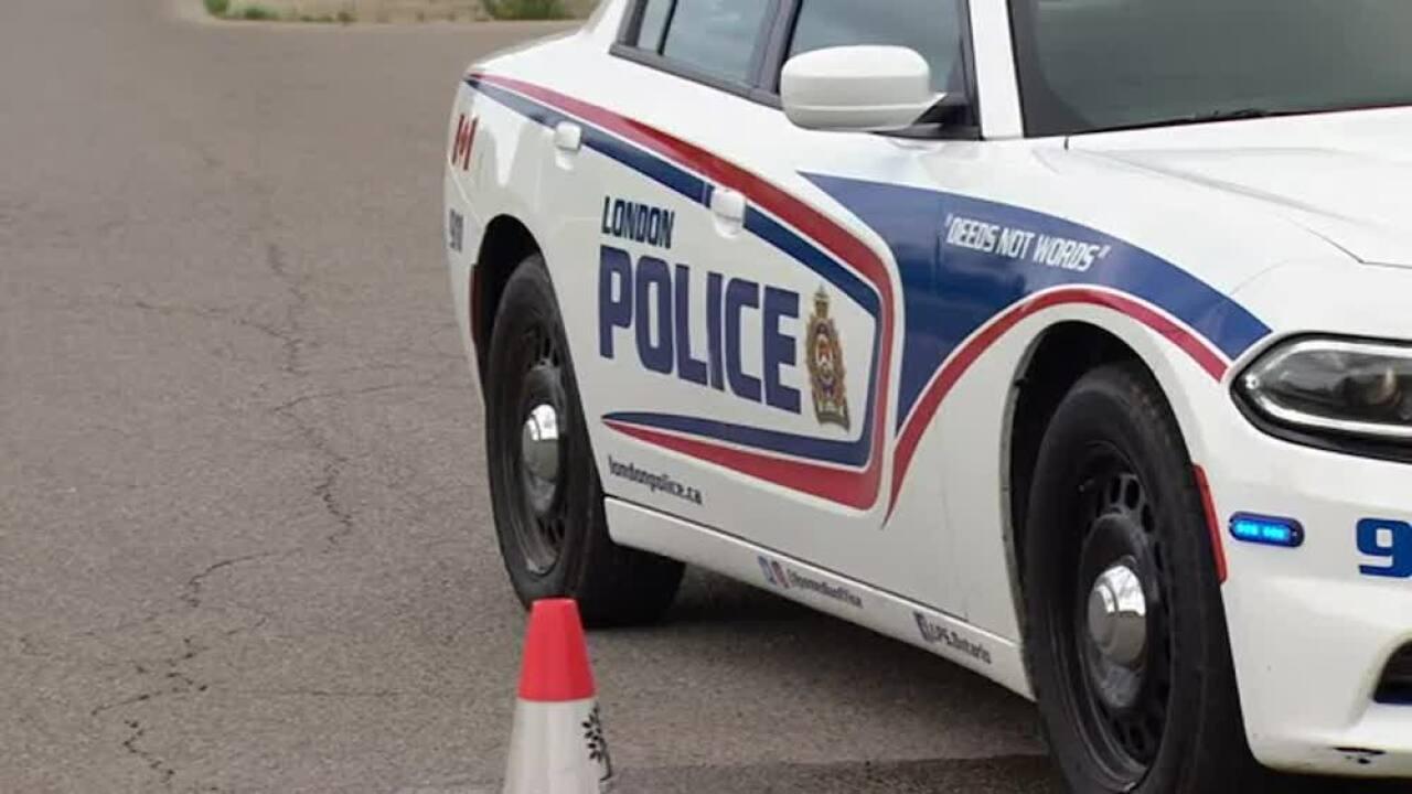 London, Ontario, Canada police car