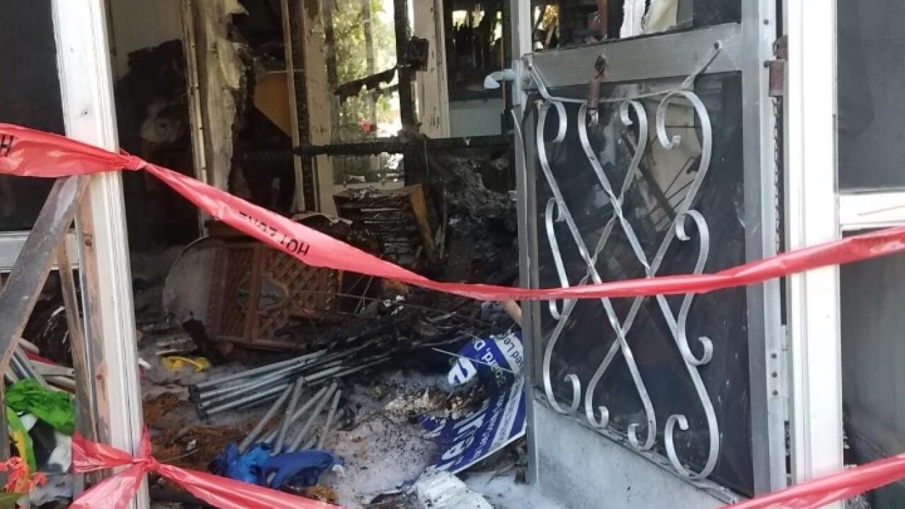 Red Cross assisted fire - Bonita Springs