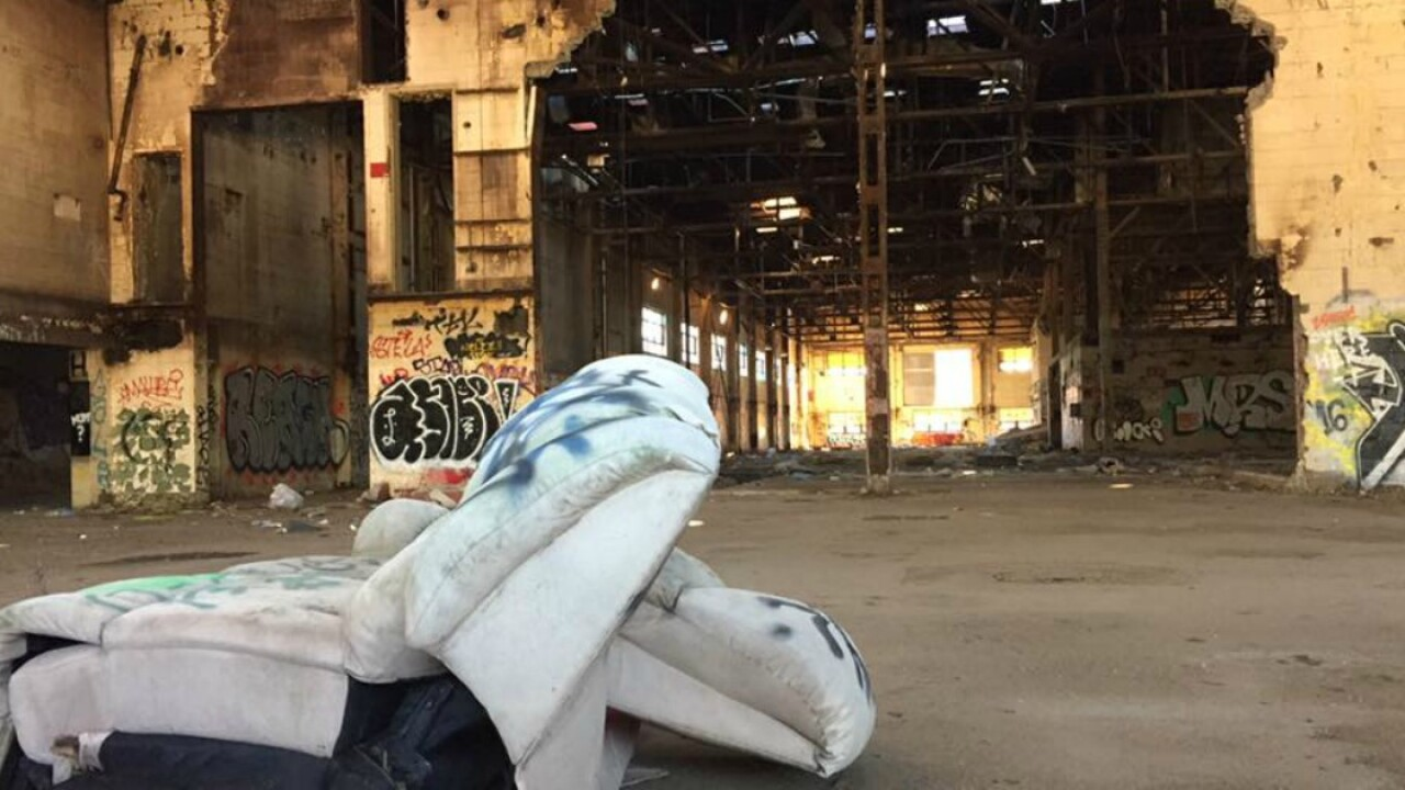 How this abandoned warehouse will help women fight opioid abuse