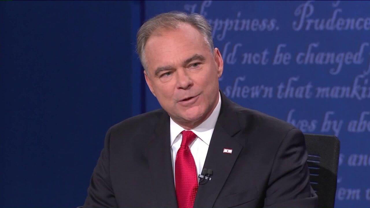 Kaine: Some in FBI 'actively working' to help Trump