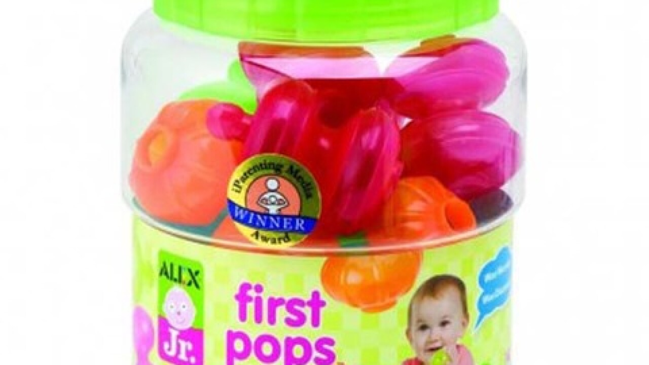 Infant building play sets recalled