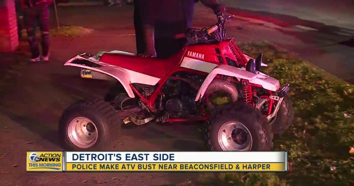 Detroit Police cracking down on illegal ATV riding inside city limits