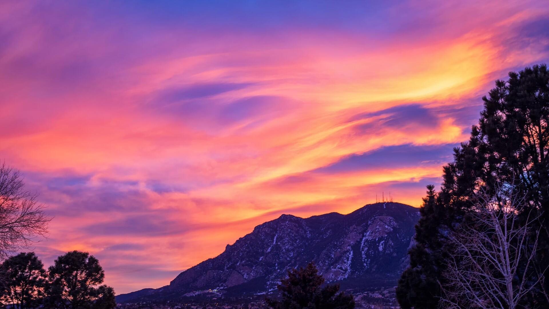 Cheyenne Mountain Sunset Bruce Hausknecht.jpg