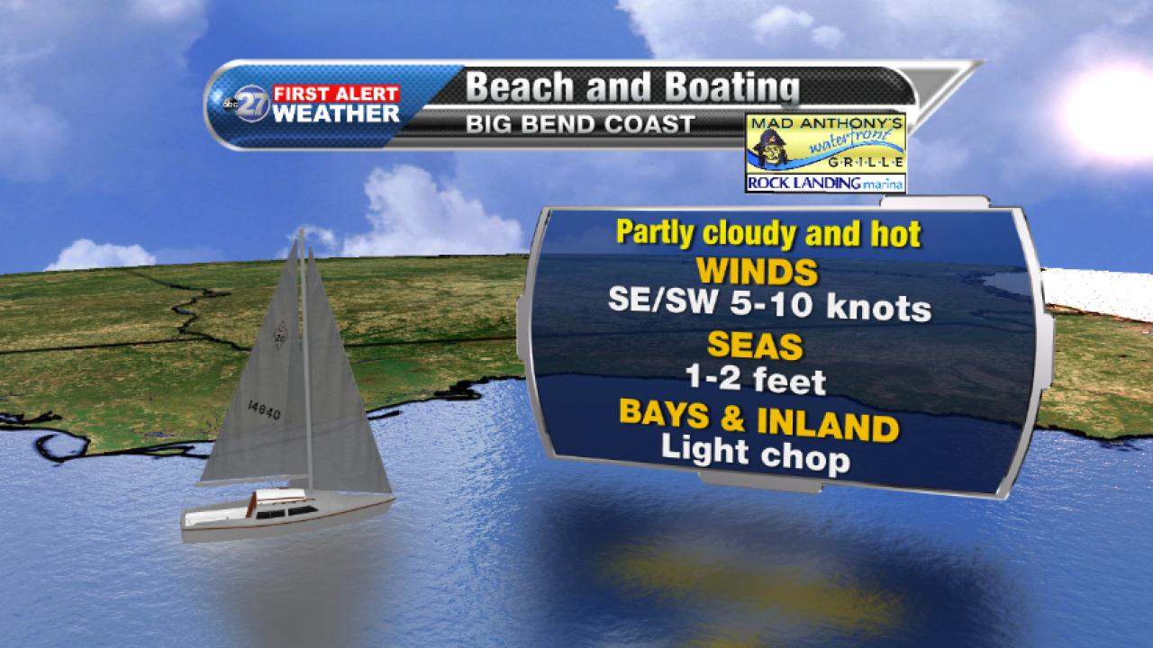Beach and Boating forecast A (08/22/2017)