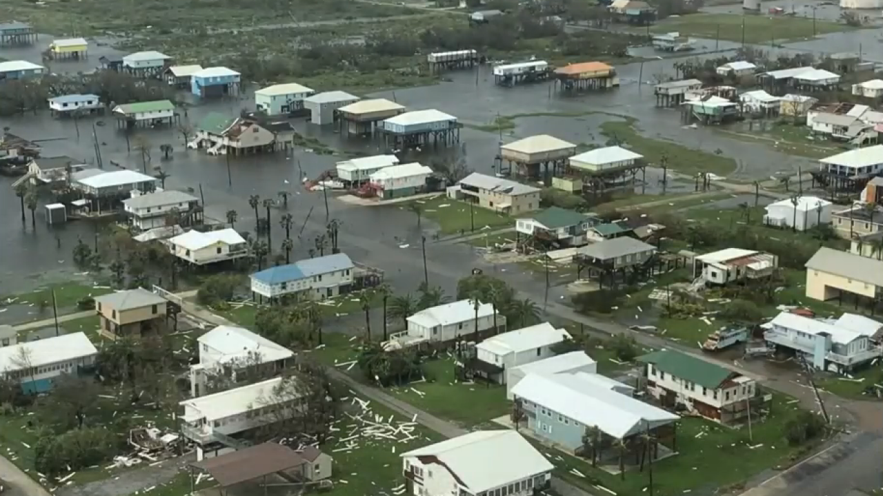 Grand Isle damage Louisiana State Police.PNG
