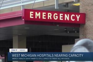 'Don't avoid seeking care': Doctors, nurses tend to all patients as hospitals near capacity