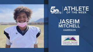 KOAA Athlete of the Week: Harrison's Jaseim Mitchell