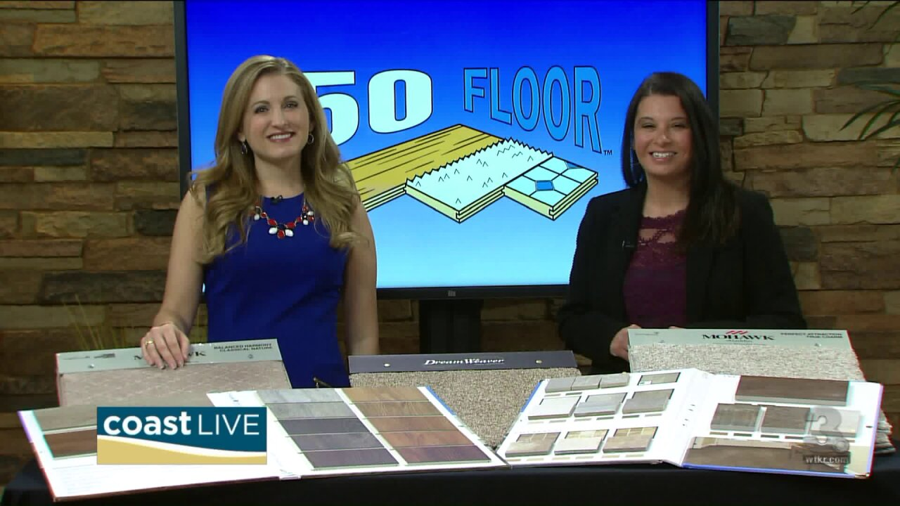 Seasonal style ideas including deals on new flooring on Coast Live
