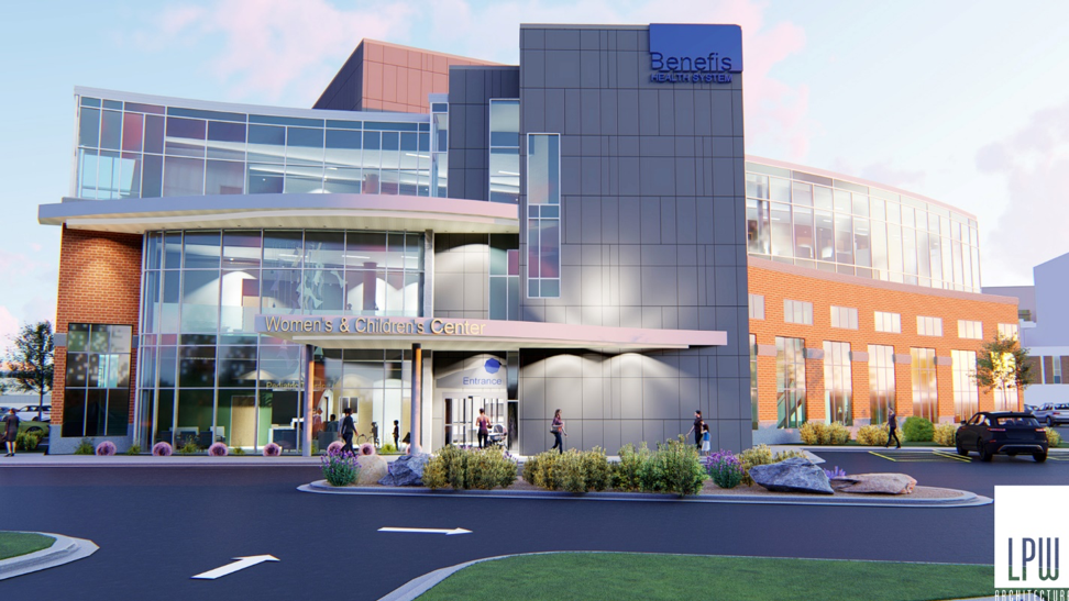 The planned Benefis Women's and Children's Center will help providers collaborate in patient care – and that means optimal outcomes for patients.