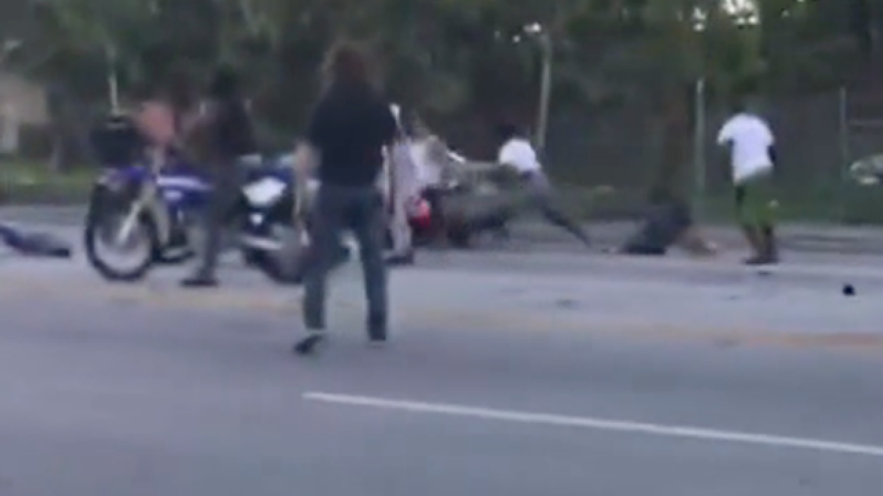 ATV riders attack driver in Miami