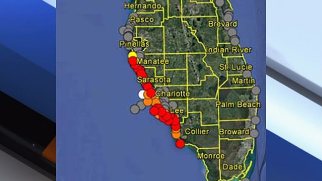 Red Tide entering Pinellas County