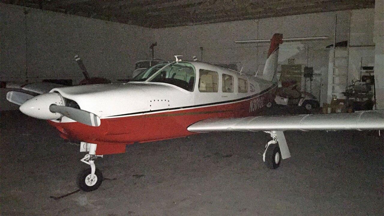 WPTV Simmons plane