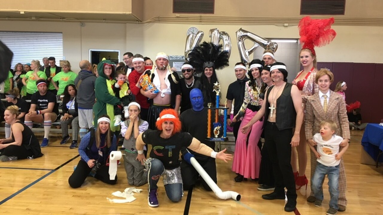 Dodgeball event raises money for kids in need