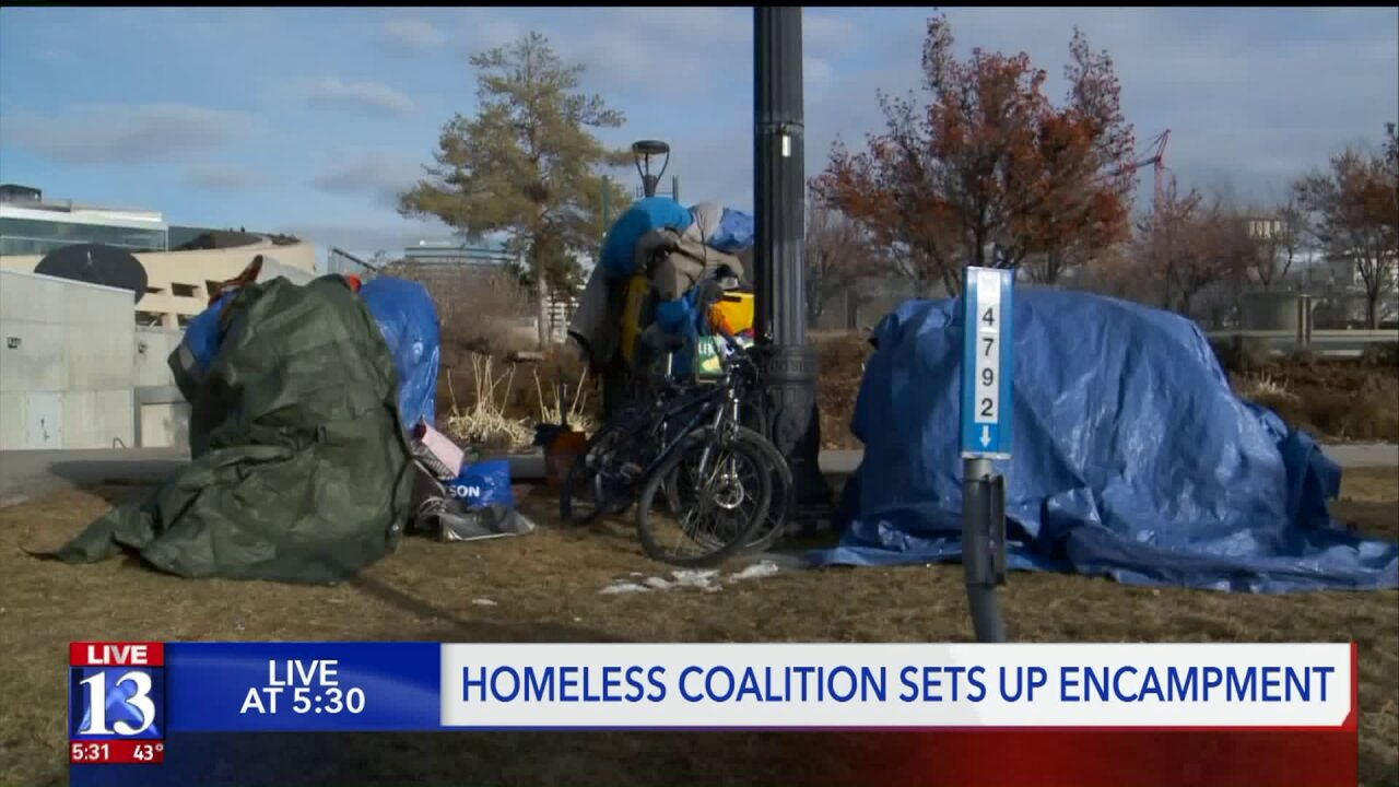 Activists clash with police over homelessness issue