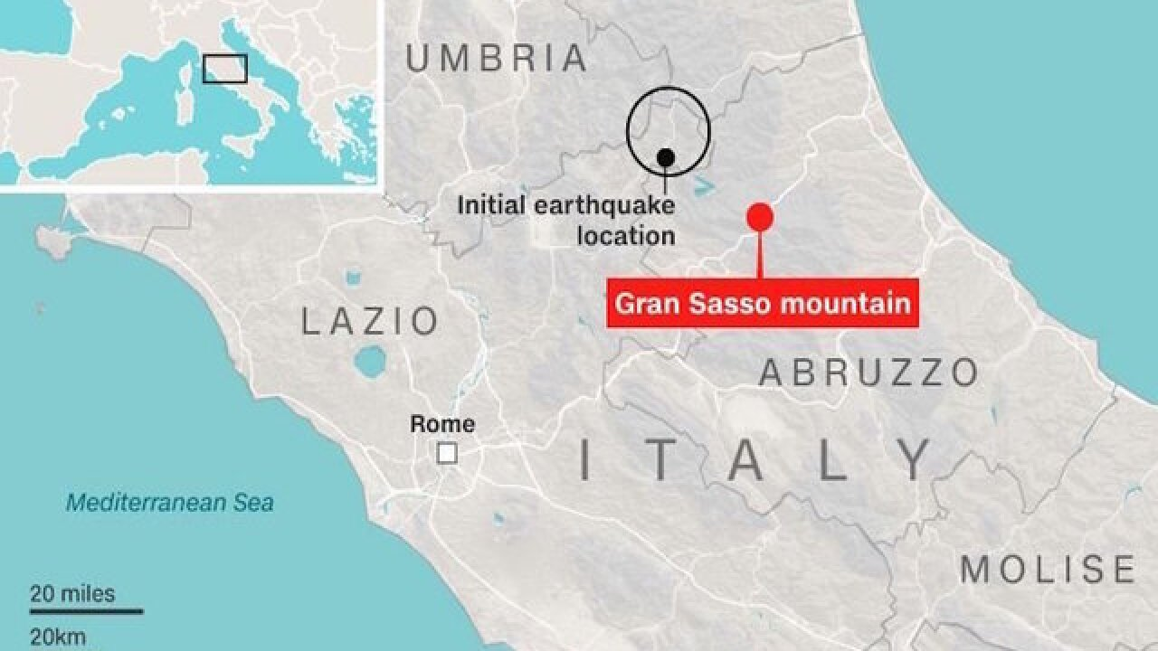 Italy hotel buried by avalanche; deaths reported