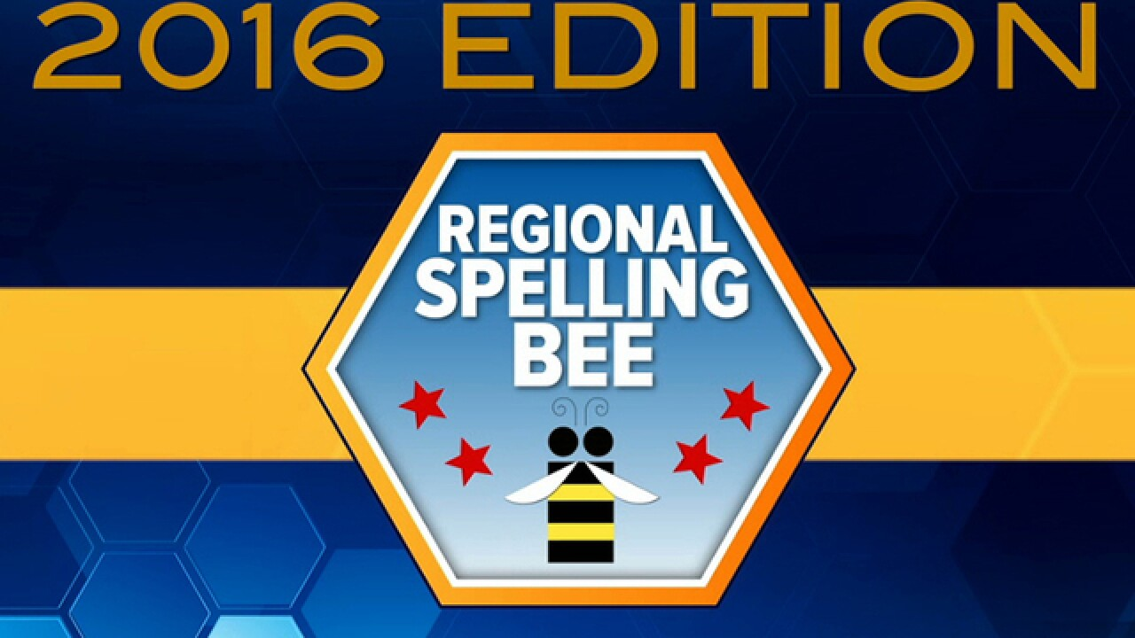 A regional spelling champion will 'Bee' crowned