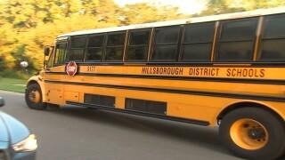 Hillsborough County school bus