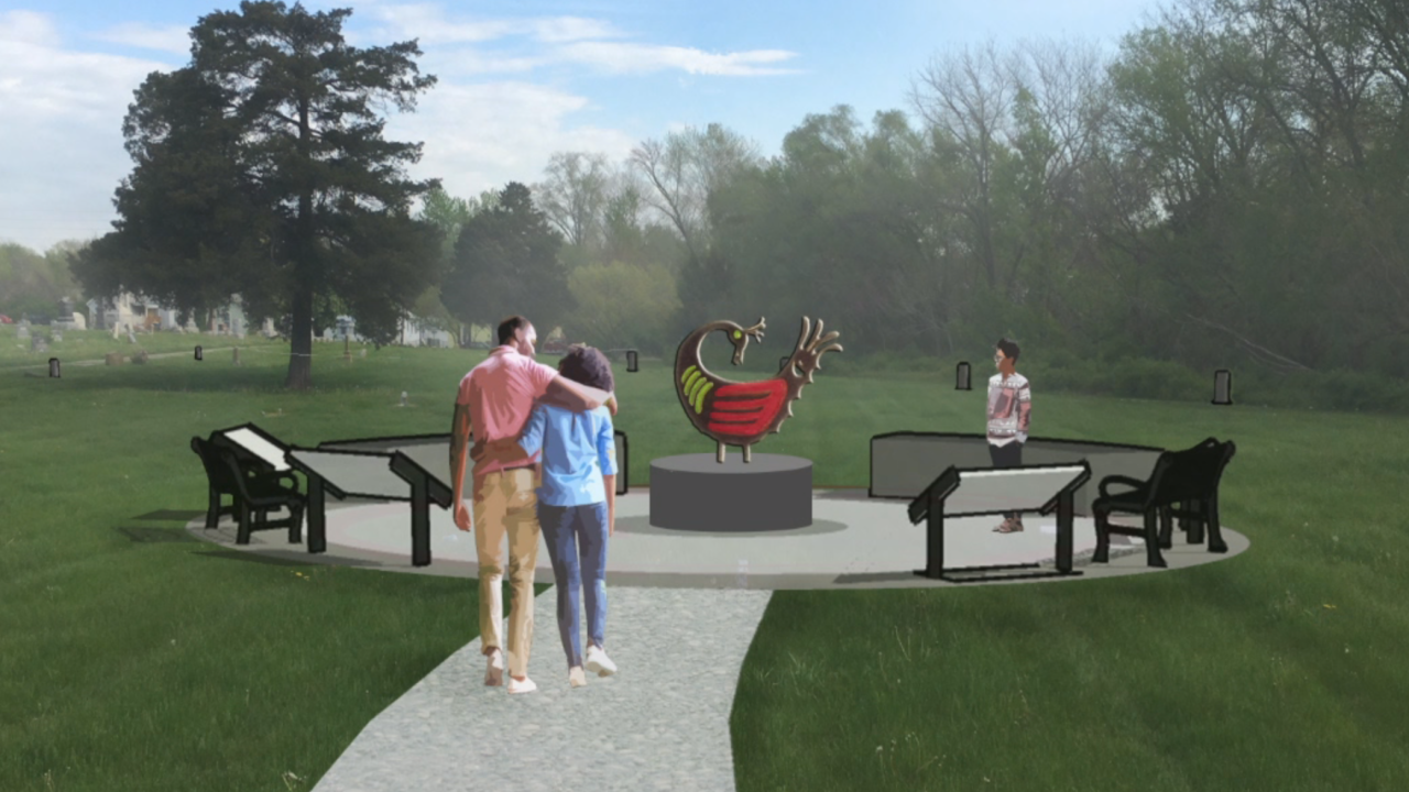liberty cemetery memorial proposal 2