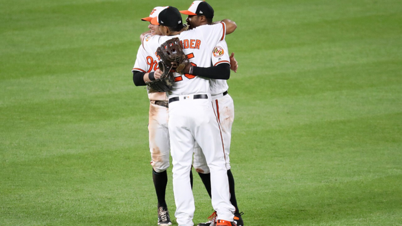 Baltimore comes back to even the series after disastrous Tuesday night
