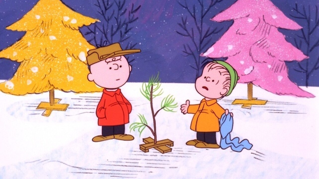 Watch Charlie Brown Christmas.Watch A Charlie Brown Christmas Tonight