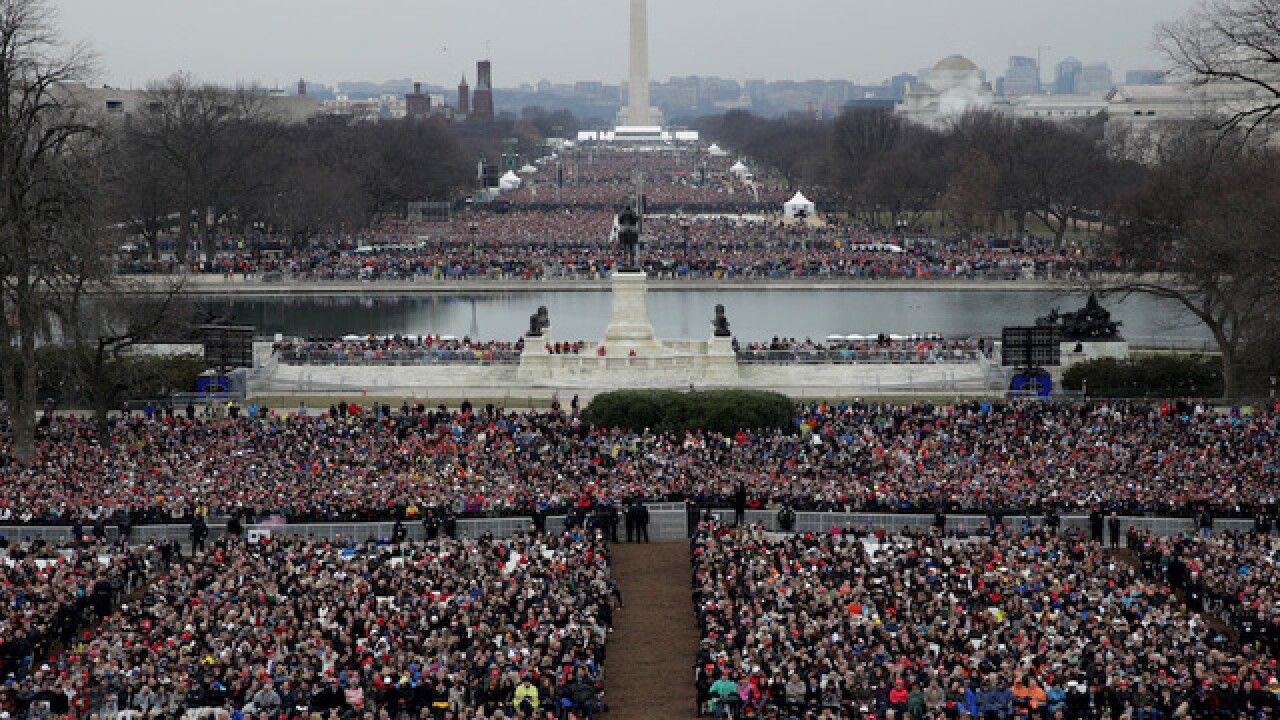 The White House claims the inauguration had 'the largest audience ever.' Is that true?